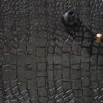 Iznenađujući drveni pod koji oponaša krokodilsku kožu