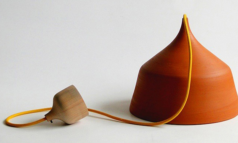 Kreativni lusteri od terakote