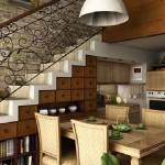 Kuhinje ispod stepeništa