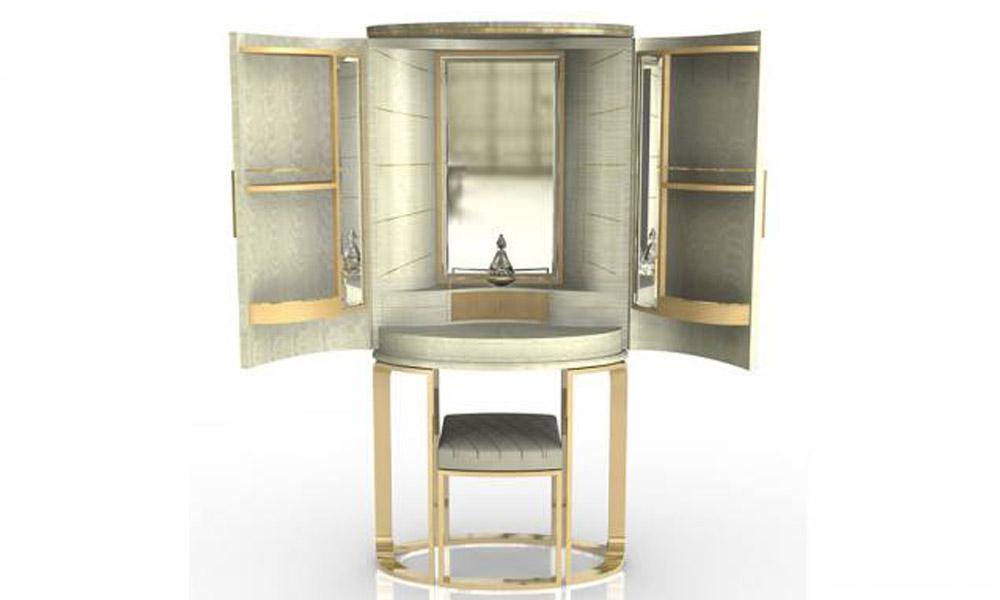 Luksuzne vitrine u suvom zlatu