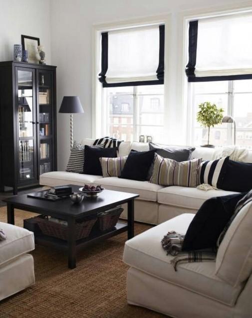 Male dnevne sobe uređene sa stilom slika4