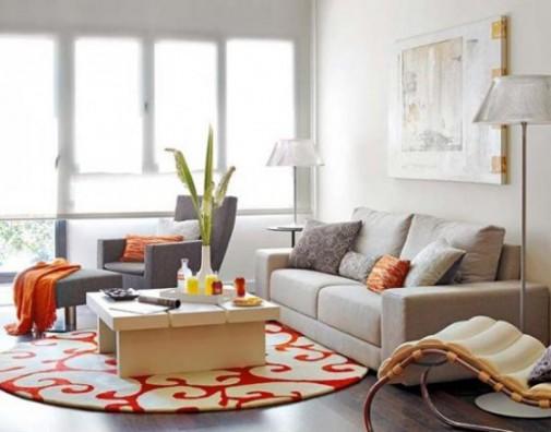 Male dnevne sobe uređene sa stilom slika5