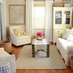 Male dnevne sobe uređene sa stilom