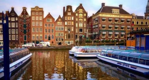 Najlepši gradovi Amsterdam