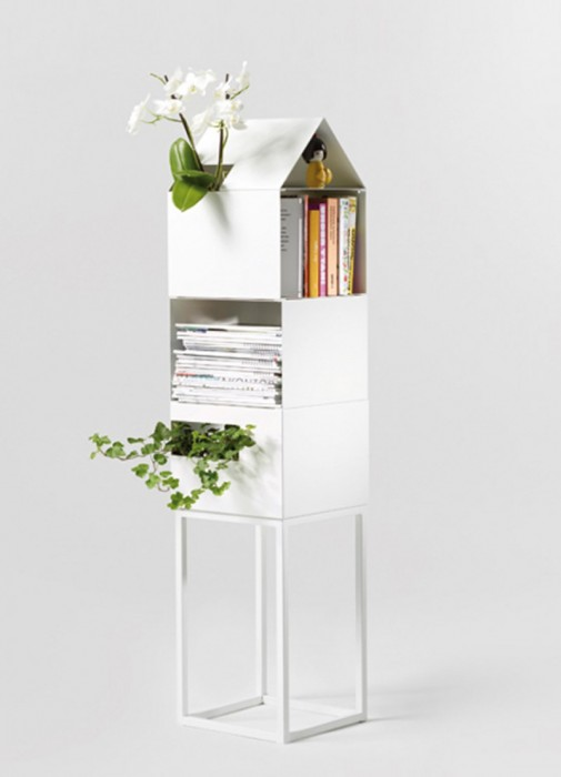 Odložite svoje omiljene časopise u kućicu od cveća slika2