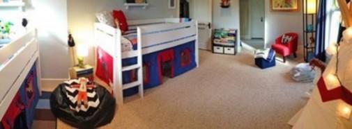 Pametan i udoban dizajn sobe za dečake slika2