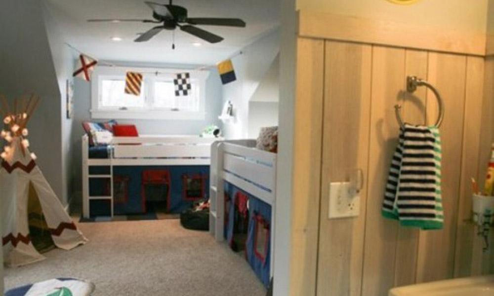 Pametan i udoban dizajn sobe za dečake