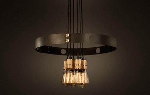 Prefinjena industriska lampa slika2