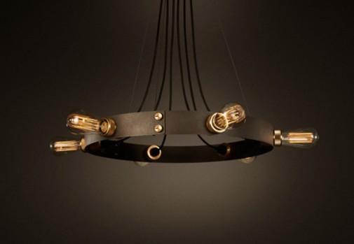 Prefinjena industriska lampa slika4
