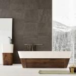 Skupocena kolekcija za kupatila od drveta i kamena