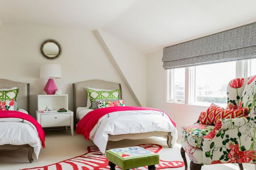 Spavaće sobe sa tropskim motivima slika2