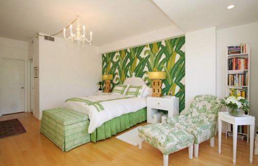 Spavaće sobe sa tropskim motivima slika3