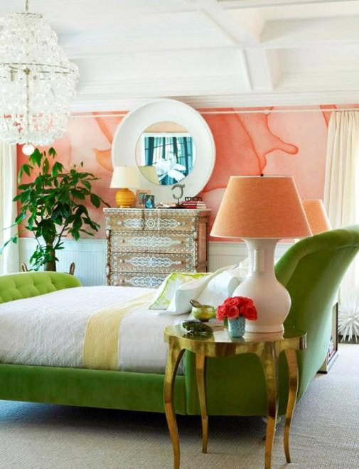 Spavaće sobe sa tropskim motivima slika5