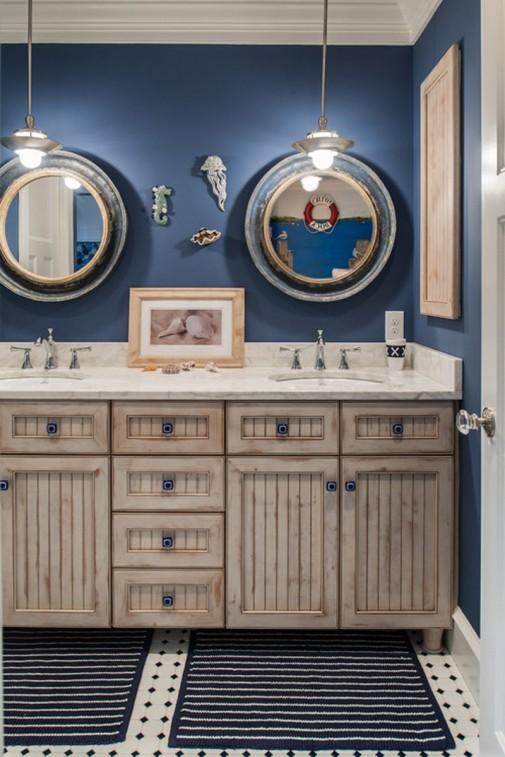 Uredite kupatilo sa morskim motivima slika2