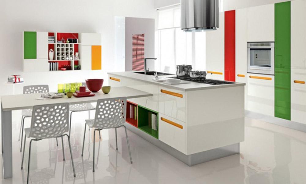 Vanvremenski izgled kuhinje