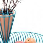 Vaza i posuda za voće u jednom elementu
