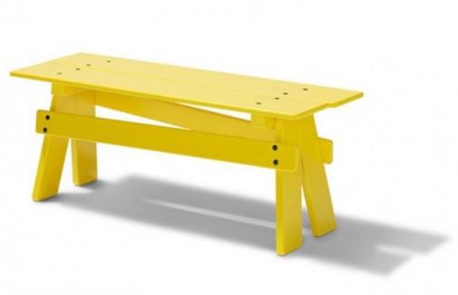 Zabavan žuti dečiji nameštaj slika3