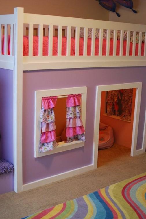 Zabavni kreveti na sprat za decu slika3