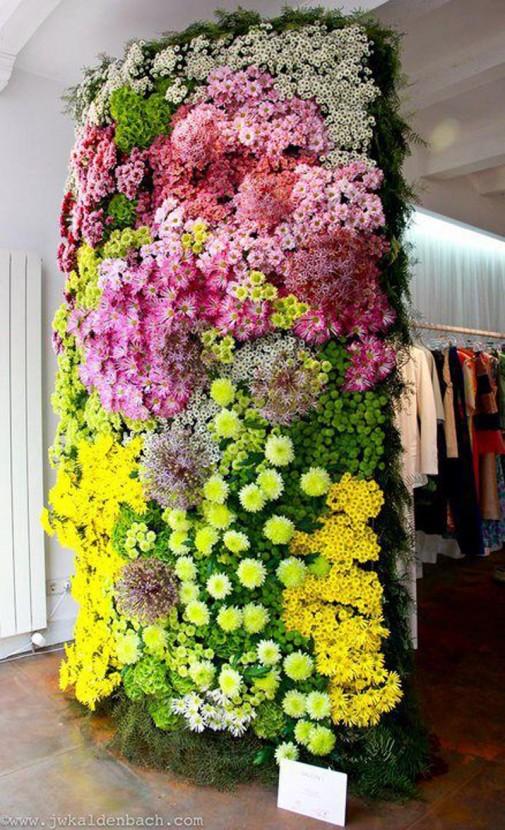 Zid od cveća slika4