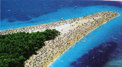 Zlatni rat plaža na ostrvu Brač