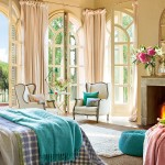Predivna spavaća soba u bojama