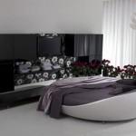 Kružni kožni kreveti