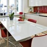 Kuhinja u jarkim bojama sa stilom