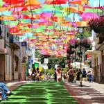 Predivna raznobojna instalacija primećena u Portugaliji!