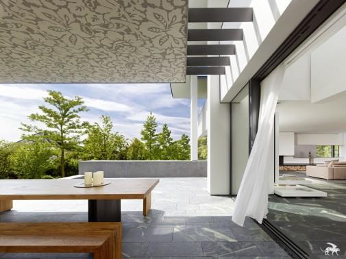 Moderan, topao i luksuzan dom za ljubitelje umetnosti