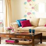 Vesela letnja dekoracija u dnevnoj sobi
