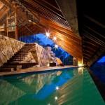 Atraktivna arhitektura iznad termalnog izvora