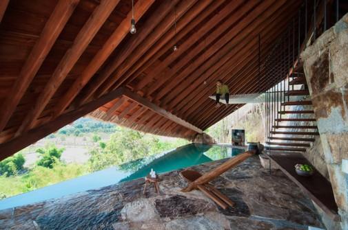 Atraktivna arhitektura iznad termalnog izvora 2