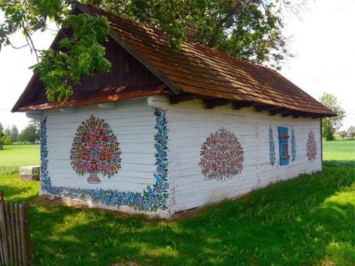 Oslikano selo u Poljsk3oj