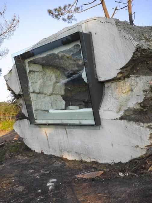 Neobična letnja kuća u kamenu
