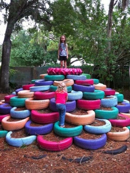 Sjajne ideje za recikliranje starih automobilskih guma