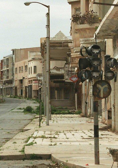 Napuštena Varoša na severu Kipra