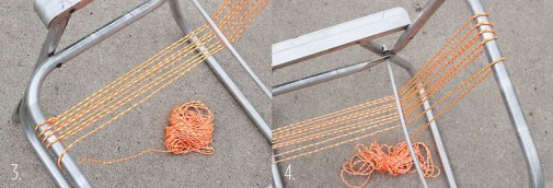 Pletenje stolice