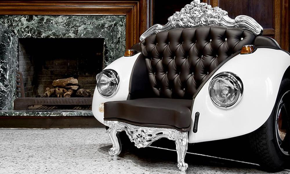 Glamurozna fotelja