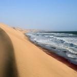 Jedina pustinja na svetu koja izlazi na more