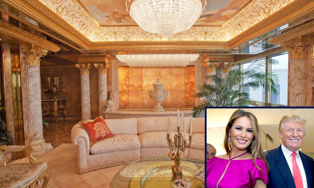 Kraljevski apartman Donalda i Melanije Tramp na Menhetnu