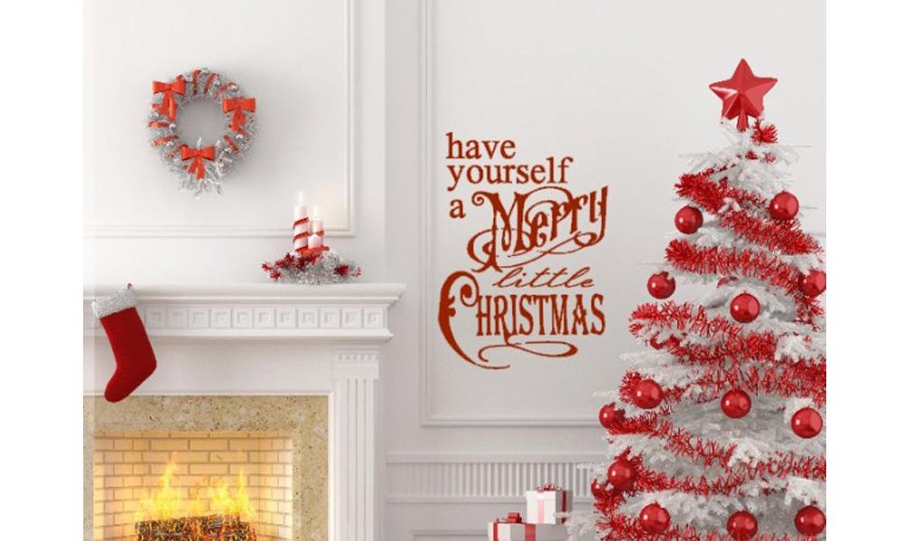 Kreativni božićni i novogodišnji stikeri i dekoracija