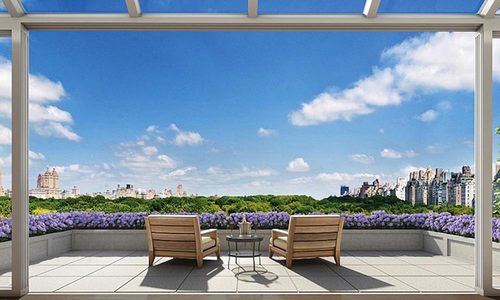 Luksuzan penthaus sa pogledom na Njujork