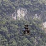 Opasni žičani put u kineskom selu