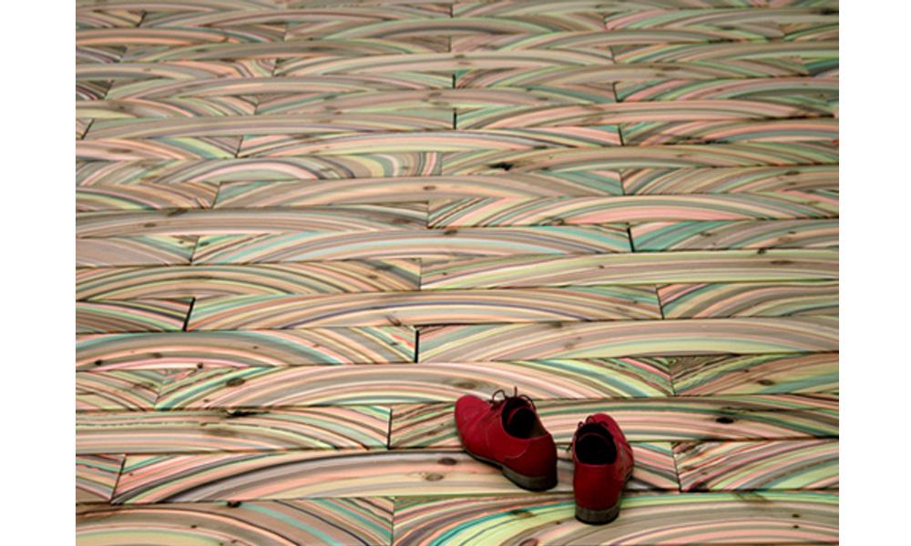 Predivni drveni podovi koji izgledaju kao mermer