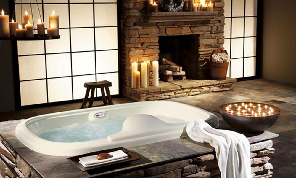 Sirov kamen za rustično i atraktivno kupatilo