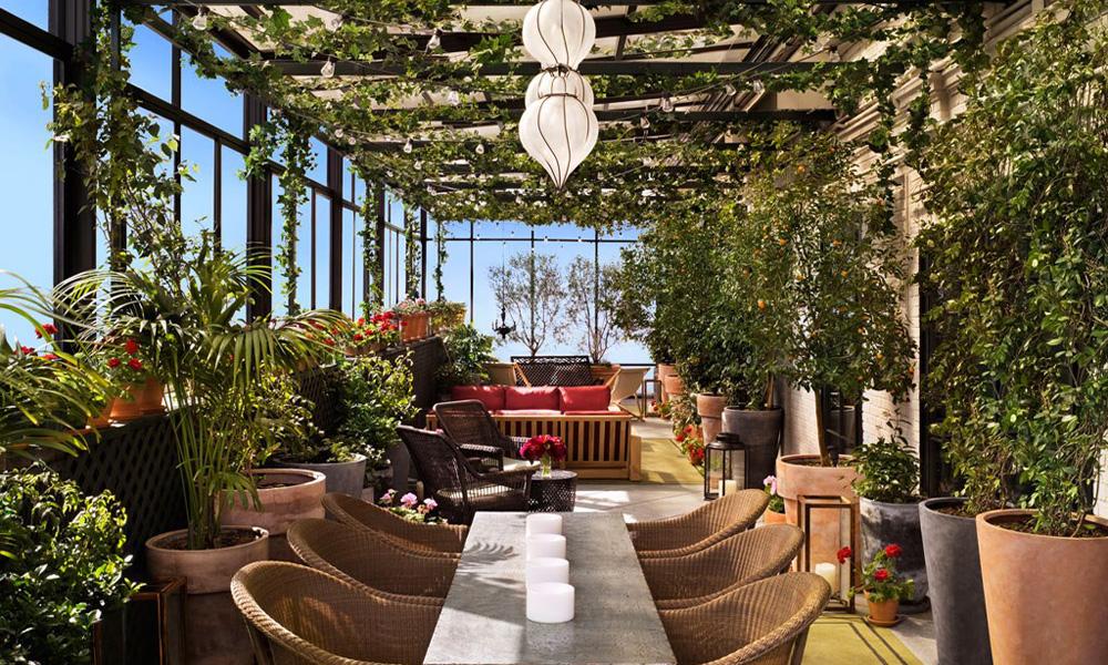 Terasa kultnog njujorškog hotela Gramercy Park