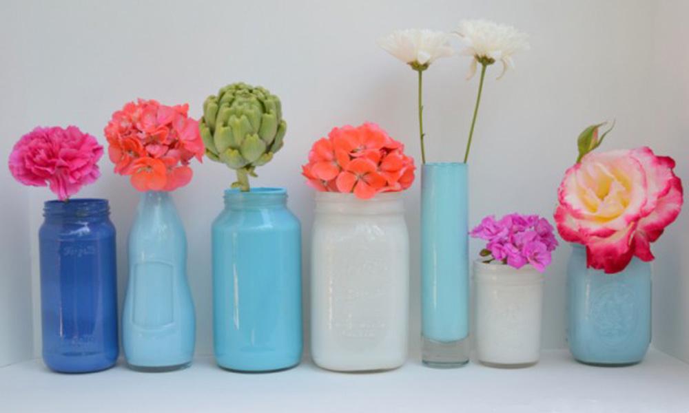 Unikatne vaze od starih tegli i flaša