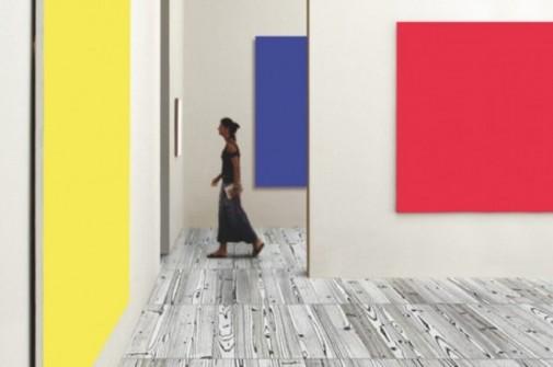 Raznobojni podovi u Andy Warhol stilu