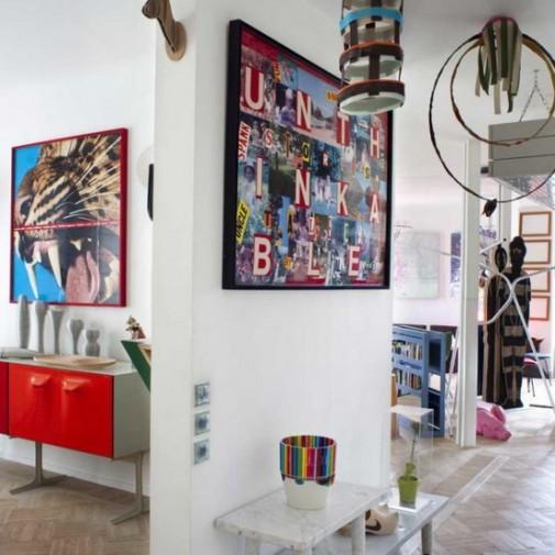 Neodoljiv i raznobojan stan u Parizu