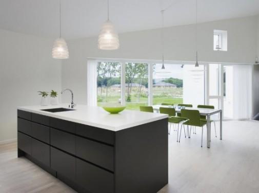 Moderna seoska kuća u Danskoj